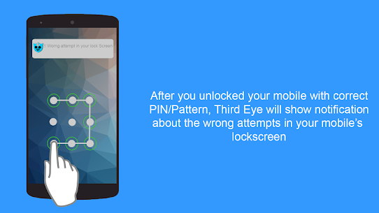 Third Eye Pro v1.1.9 Cracked APK – Find Who Tries to access your mobile 2