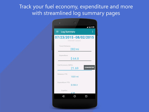 Fuel Tracker For PC Windows (7, 8, 10, 10X) & Mac Computer Image Number- 14