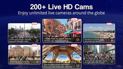 World Live Earth Web Cam - All Live Cam Earth Map 2.2 Screenshots 7
