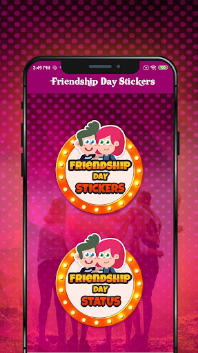 friendship day sticker for whatsapp screenshot 2