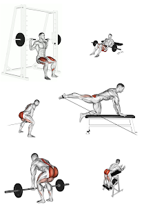 Glutes Workout Exercises