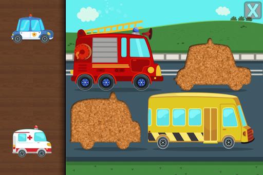 Cars & Trucks Jigsaw Puzzle for Kids 3.6 screenshots 1