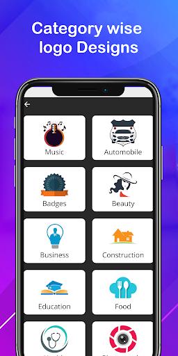 Logo maker 2021 3D logo designer, Logo Creator app 1.23 Screenshots 4