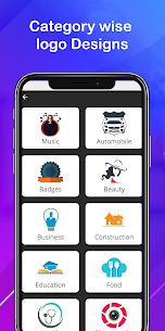 Logo maker 2021 3D logo designer, Logo Creator app 4