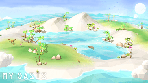 My Oasis : Calming and Relaxing Idle Game  screenshots 1