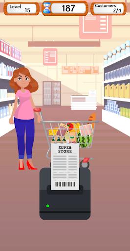 Supermarket Cashier Simulator - Money Math Game screenshots 4