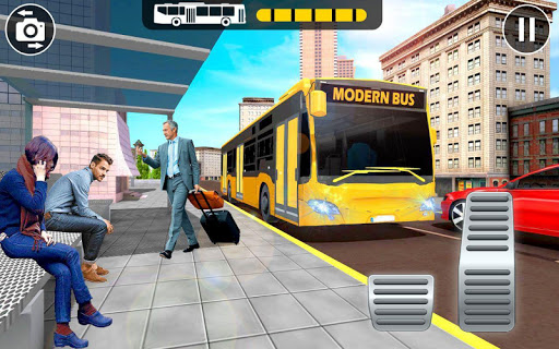 Modern Bus Parking Adventure - Advance Bus Games 1.1.2 Screenshots 3