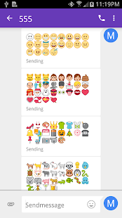 Emoji Fonts for FlipFont 4 Screenshot