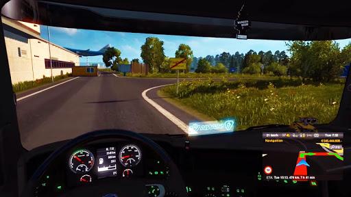 Lorry Truck Simulator:Real Mobile Truck Transport 1.2 screenshots 13