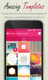 Creative Typography Design 3.9 Screenshots 2