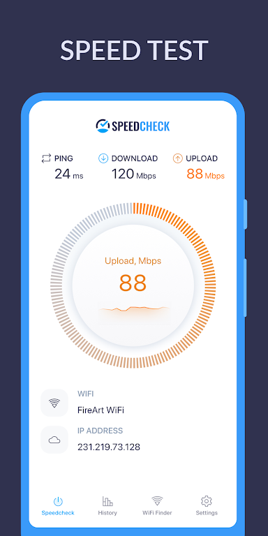 Internet Speed Test SPEEDCHECK  poster 0