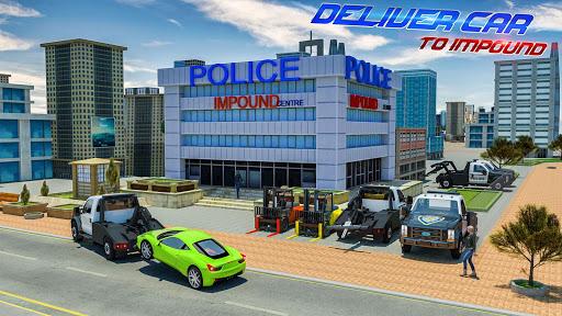 Police Tow Truck Driving Simulator 1.3 screenshots 3