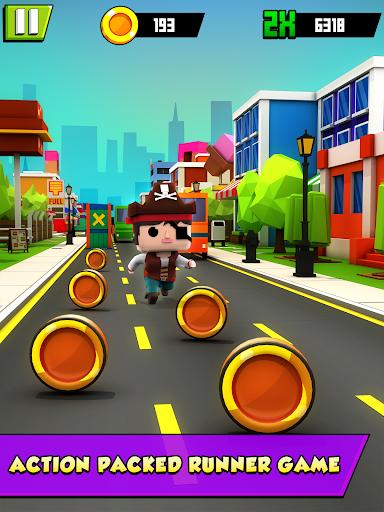 KIDDY RUN - Blocky 3D Running Games & Fun Games 1.04 screenshots 9