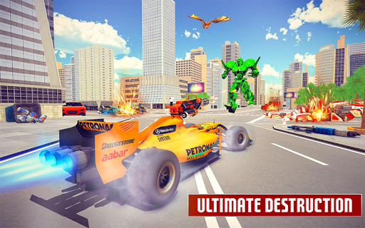 Dragon Robot Car Game u2013 Robot transforming games apkpoly screenshots 15