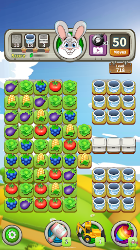 Farm Raid : Cartoon Match 3 Puzzle  screenshots 6