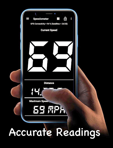 GPS Speedometer and Odometer (Speed Meter)  screenshots 1