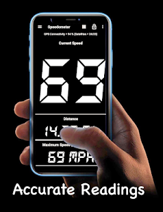 GPS Speedometer and Odometer (Speed Meter) 14.0-beta Screenshots 1