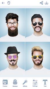 Man Hairstyles Photo Editor 1.8.8 Screenshots 6