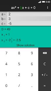 Quadratic Equation Solver