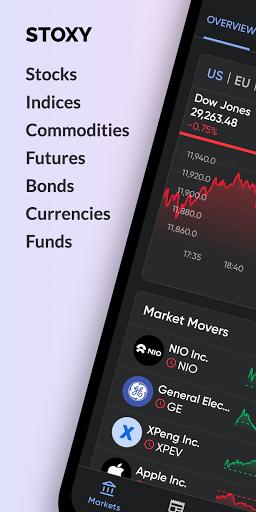 Stoxy PRO - Stock Market. Finance. Investment News screen 0