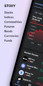 Stoxy PRO - Stocks, Forex & Crypto 5.7.1 (Paid)