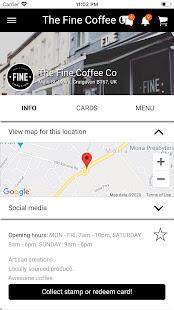 The Fine loyalty App 1.1.3 screenshots 2