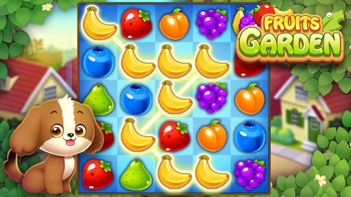 Fruits Garden : Jeu de puzzle d'association APK MOD – ressources Illimitées (Astuce) screenshots hack proof 1