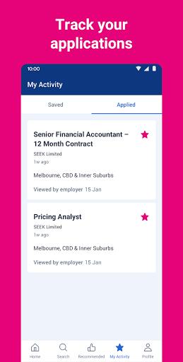 SEEK Job Search apktram screenshots 3