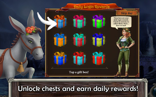 MatchVentures - Match 3 Castle Mystery Adventure apkslow screenshots 8