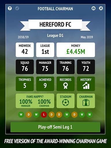Football Chairman - Build a Soccer Empire  Screenshots 11
