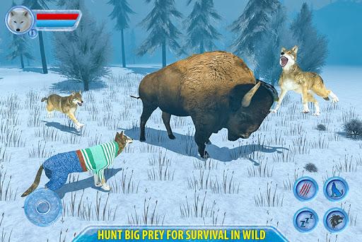 Arctic Wolf Sim 3D  screenshots 4