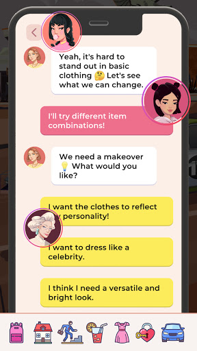 Code Triche Hollywood Celebrity Story Life Simulator (Astuce) APK MOD screenshots 2