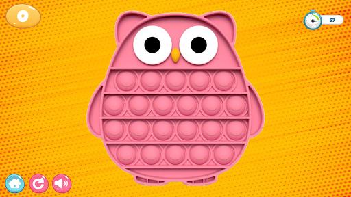 Pop It Sensory Zappeln Wu00fcrfel Spielzeug 3d  screenshots 5