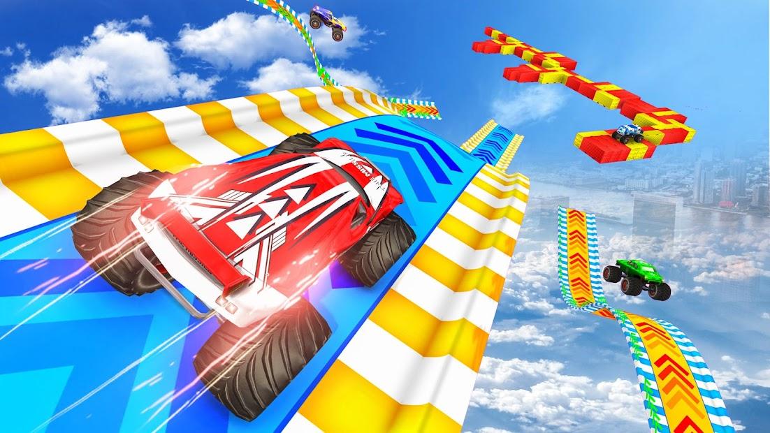 Extreme Monster Truck Stunts: Car Stunt Games 2021 screenshot 1