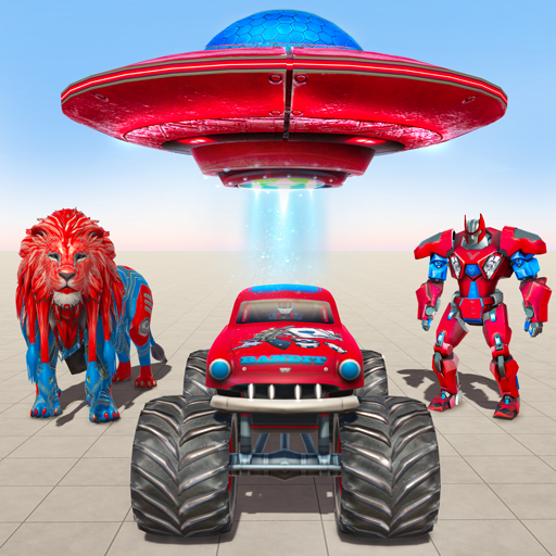 Game mobil robot luar angkasa - game robot singa