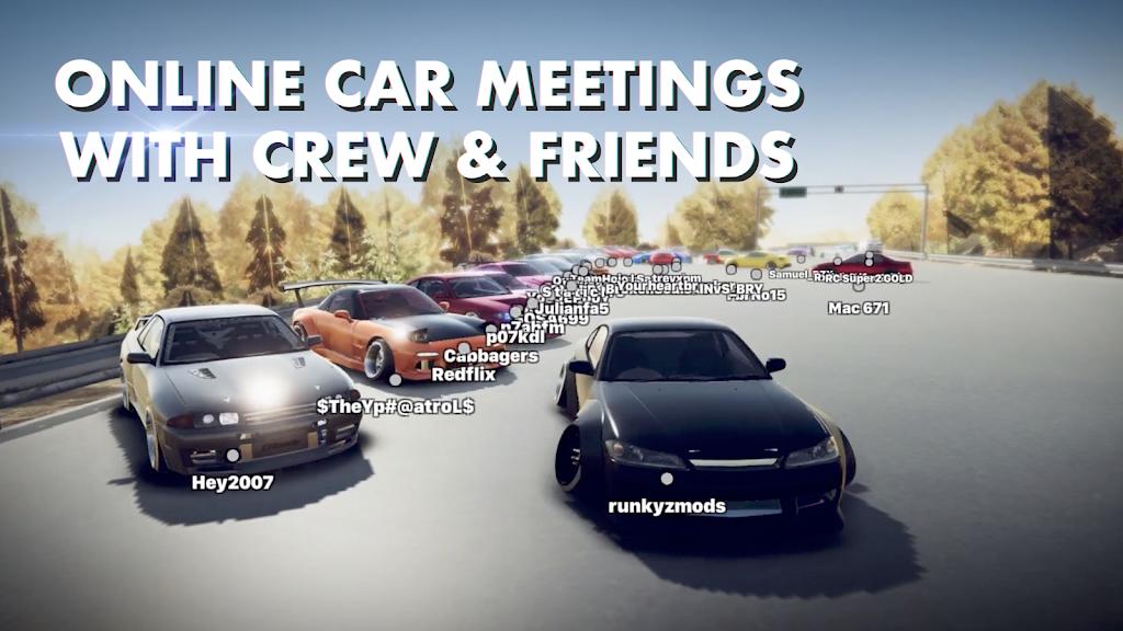 Hashiriya Drifter Online Drift Racing Multiplayer MOD poster 3