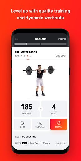 Volt: Gym & Home Workout Plans 1.86.0 Screenshots 1