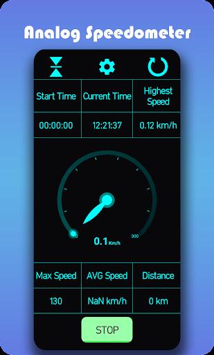 Speedometer - Car distance tracker or speed meter 7/1/2021-19 screenshots 1