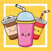 Draw Cute Drinks & Juices Step by step