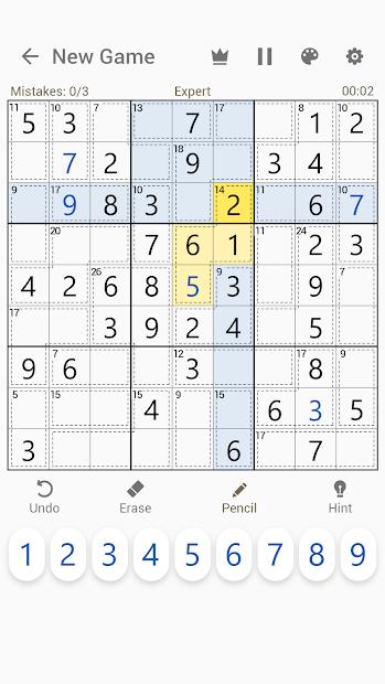 Imágen 3 de Killer Sudoku - Free Sudoku Puzzles+ para android