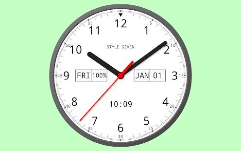 Analog Clock 24-7