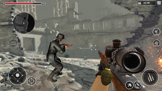لعبة اطلاق النار WW2: ألعاب الجيش العاب 1.0.2 APK + Mod (Unlimited money) إلى عن على ذكري المظهر
