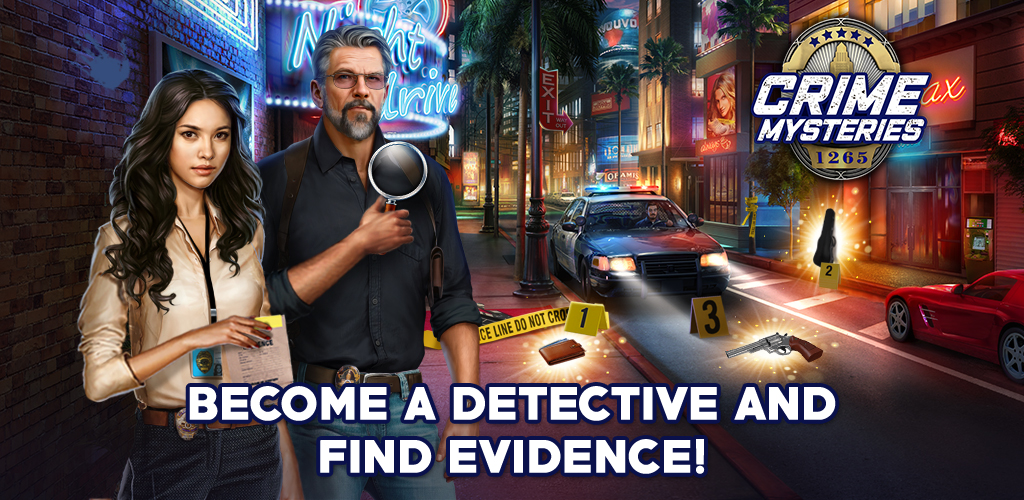 Crime Mysteries™: Find objects & match 3 puzzle poster 0
