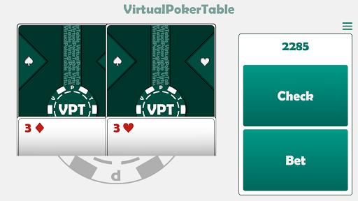 Virtual Poker Table : Cards, Chips & Dealer  screenshots 8