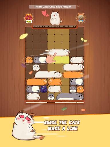 Haru Catsu00ae - Fun Slide Puzzle - Free Flow Zen Game Apkfinish screenshots 17