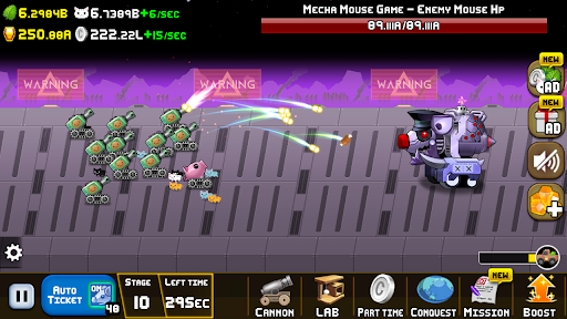 Idle Cat Cannon modavailable screenshots 4