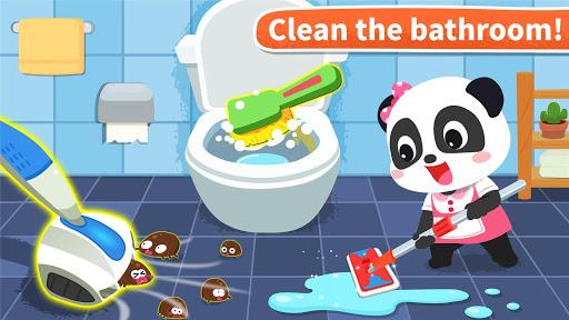 Baby Panda' s House Cleaning  screenshots 5