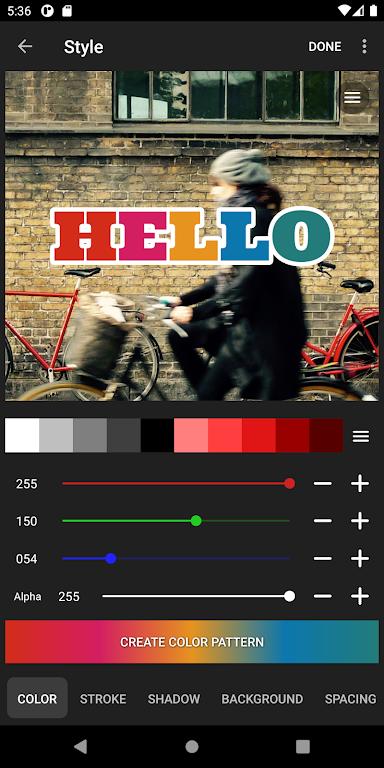 Vont - Text on Videos  poster 3