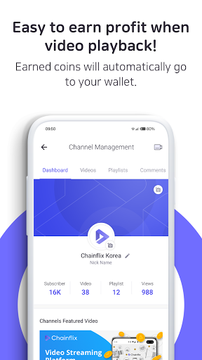 Chainflix u2013 Watch Videos & Earn Coins! android2mod screenshots 4