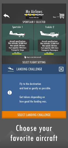 Flight Simulator 2d - realistic sandbox simulation apklade screenshots 2